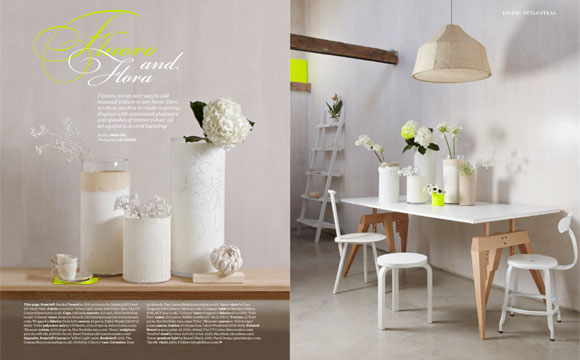 Microscreed flooring in Elle Decoration magazine